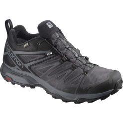 Buty trekkingowe męskie: Salomon Buty męskie X Ultra 3 GTX Black/Magnet/Quiet Shade r. 43 1/3 (398672)