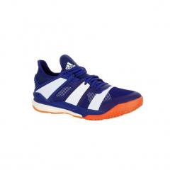BUTY do piłki ręcznej STABIL X BOOST. Niebieskie buty do koszykówki męskie marki Adidas, z kauczuku. Za 399,99 zł.