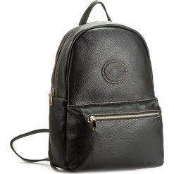Plecak CREOLE - K10308 Czarny. Czarne plecaki damskie Creole, ze skóry, eleganckie. W wyprzedaży za 219,00 zł.