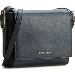 Torebka COCCINELLE - YV3 Minibag C5 YV3 15 C1 02 Blu 011. Brązowe listonoszki damskie marki Coccinelle, ze skóry. W wyprzedaży za 469,00 zł.