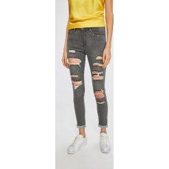 Answear - Jeansy. Szare jeansy damskie rurki ANSWEAR, z bawełny. W wyprzedaży za 59,90 zł.