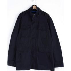 Granatowa Kurtka Proctection. Czarne kurtki męskie marki Born2be, l, z aplikacjami, z dresówki. Za 139,99 zł.