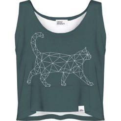 Colour Pleasure Koszulka damska CP-035 237 zielona r. XS-S. T-shirty damskie Colour pleasure, s. Za 64,14 zł.