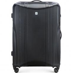 Walizka duża 56-3P-915-10. Czarne walizki marki Wittchen, z gumy, duże. Za 319,00 zł.