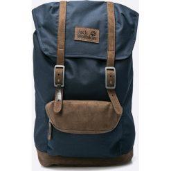 Jack Wolfskin - Plecak. Czarne plecaki męskie marki Jack Wolfskin, w paski, z materiału. W wyprzedaży za 359,90 zł.