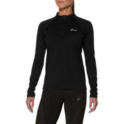 Asics Bluza damska Ess Winter 1/2 Zip Black r. L. Niebieskie bluzy sportowe damskie marki Asics, m, z elastanu. Za 121,31 zł.