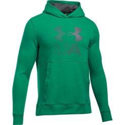Bejsbolówki męskie: Under Armour Bluza męska Threadborne Graphic Hoodie zielona r. XXL (1299143-933)