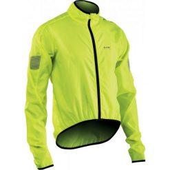 Northwave Kurtka Wodoodporna Vortex Jacket Yellow Fluo Xl. Żółte kurtki sportowe męskie Northwave, l. Za 155,00 zł.