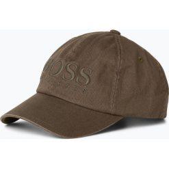 BOSS Casual - Męska czapka z daszkiem – Fritz, zielony. Zielone czapki z daszkiem męskie BOSS Casual, z haftami, z bawełny, casualowe. Za 599,95 zł.