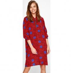 Medicine - Sukienka Summer mix. Czerwone sukienki na komunię MEDICINE, na co dzień, m, z materiału, casualowe, midi. W wyprzedaży za 99,90 zł.