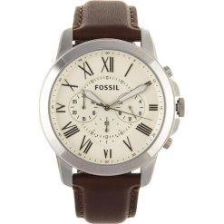 Zegarek FOSSIL - Grant FS4735 Dark Brown/Silver/Steel. Różowe zegarki męskie marki Fossil, szklane. Za 509,00 zł.