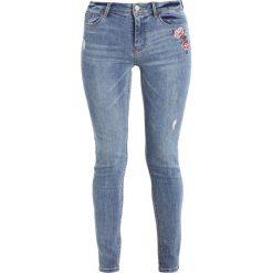 Boyfriendy damskie: Springfield SKINNY BORDADA Jeans Skinny Fit blues