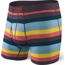 Męskie bokserki SAXX Ultra Cubana. Czerwone bokserki męskie marki Astratex, w koronkowe wzory, z wiskozy. Za 110,99 zł.