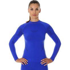 Bluzy rozpinane damskie: BLUZA BRUBECK THERMO KOBALTOWY