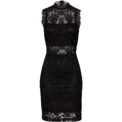 Sukienka bonprix czarny. Białe sukienki balowe marki bonprix, z koronki, moda ciążowa. Za 149,99 zł.