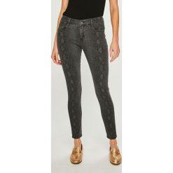 Answear - Jeansy. Szare jeansy damskie rurki ANSWEAR, z bawełny. Za 129,90 zł.