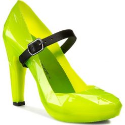 Creepersy damskie: Półbuty UNITED NUDE - Lo Res Pump 100297621 Neon Green