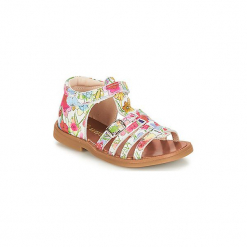 Sandały Dziecko  GBB  PHILIPPINE. Różowe sandały dziewczęce GBB. Za 223,20 zł.