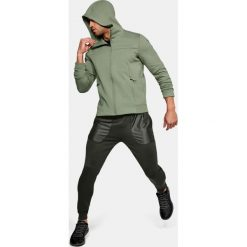 Bluzy męskie: Under Armour Bluza męska Sportstyle Elite Utility FZ zielona r. S (1306451-035)