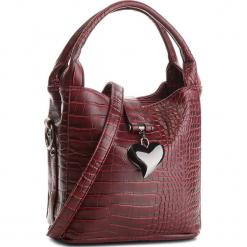 Torebka JENNY FAIRY - RC11808A Burgundy. Czerwone torebki klasyczne damskie Jenny Fairy, ze skóry ekologicznej, duże. Za 89,99 zł.