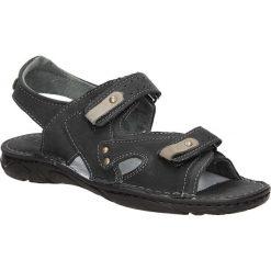 Sandały skórzane Windssor 028. Czarne sandały męskie Windssor. Za 99,99 zł.