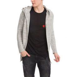 Swetry męskie: Sweter w kolorze jasnoszarym