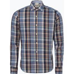 DENIM by Nils Sundström - Koszula męska, pomarańczowy. Brązowe koszule męskie na spinki marki FORCLAZ, m, z materiału, z długim rękawem. Za 129,95 zł.