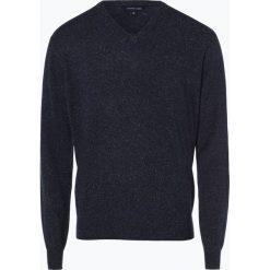 Swetry klasyczne męskie: Andrew James – Sweter męski z dodatkiem jedwabiu, szary
