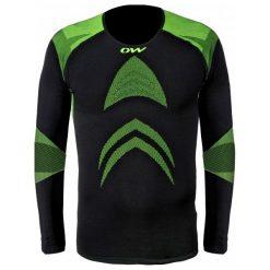 Odzież termoaktywna męska: One Way Koszulka Sportowa Master Pro L/S Shirt Black S-M