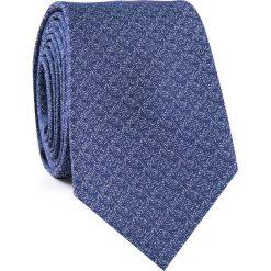 KRAWAT KWGR001853. Niebieskie krawaty męskie Giacomo Conti, z mikrofibry. Za 69,00 zł.