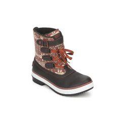 Śniegowce UGG  DECATUR. Szare buty zimowe damskie marki Ugg, z materiału, z okrągłym noskiem. Za 489,30 zł.