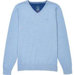 Kardigany męskie: Sweter z okrągłym dekoltem, cienka dzianina