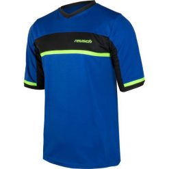 Koszulki do piłki nożnej męskie: REUSCH Koszulka  męska Razor Shortsleeve niebisko-czarna r. XL (35/12/104/450)