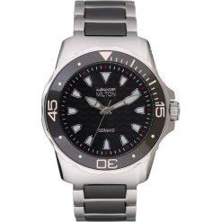 """Zegarki męskie: Zegarek kwarcowy """"Aristos"""" w kolorze srebrno-czarnym"""