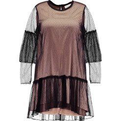 Sukienki hiszpanki: Elvi POLKA DOT Sukienka letnia black