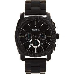 Zegarki męskie: Zegarek FOSSIL – Machine FS4552 Black/Black