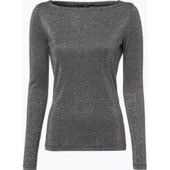 T-shirty damskie: Comma – Damska koszulka z długim rękawem, szary