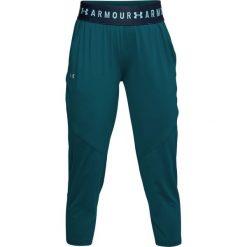 Spodnie sportowe damskie: Under Armour Spodnie sportowe damskie Armour Sport Crop zielone r. S (1305468-716)