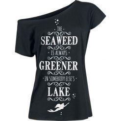 Ariel - Mała Syrenka The Seaweed Is Always Greener Koszulka damska czarny. Czarne bluzki nietoperze Ariel - Mała Syrenka, s, z motywem z bajki, z dekoltem w łódkę. Za 62,90 zł.