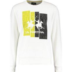 La Martina Bluza optic white. Białe kardigany męskie La Martina, m, z bawełny. W wyprzedaży za 350,35 zł.