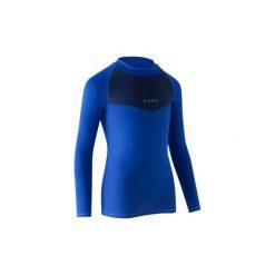 Podkoszulek Keepdry 100. Niebieskie odzież termoaktywna męska KIPSTA, ze skóry. Za 24,99 zł.