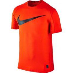 Nike Koszulka treningowa Pro Swoosh Short Sleeve Top M Czerwona r. L - (828541-852). Czerwone t-shirty męskie Nike, l. Za 123,59 zł.