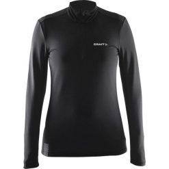 Craft Bluza damska Facile Halfzip czarna r. L (1903652-9999). Czarne bluzy sportowe damskie marki DOMYOS, z elastanu. Za 104,30 zł.