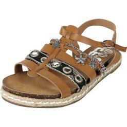 Sandały damskie: Refresh Oulaoui Sandały brązowy (Camel)