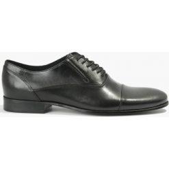 Półbuty czarne Peppe. Czarne buty wizytowe męskie Badura. Za 239,99 zł.