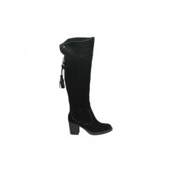 Kozaki Carmela  66375. Czarne buty zimowe damskie Carmela. Za 483,65 zł.