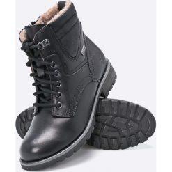 Jana - Botki. Czarne buty zimowe damskie marki Mohito, na obcasie. W wyprzedaży za 219,90 zł.