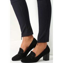 Buty ślubne damskie: Czarne Czółenka Cordial Promenade