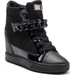 Sneakersy GUESS - FLFL34 ESU12 BLACK. Czarne sneakersy damskie Guess, z lakierowanej skóry. Za 629,00 zł.
