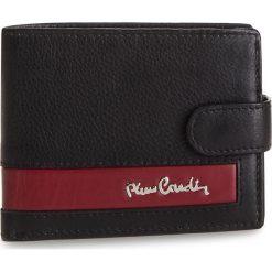 Duży Portfel Męski PIERRE CARDIN - TILAK26 323A Black/Red. Czarne portfele męskie marki Pierre Cardin, ze skóry. Za 125,00 zł.